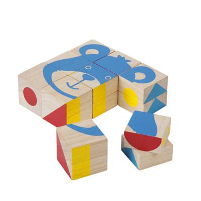 ของเล่นไม้ ของเล่นเด็ก ของเล่นเสริมพัฒนาการ Pattern Blocks 5179 (ส่งฟรี)
