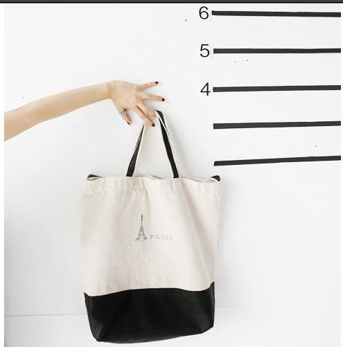 B004 Paris Shopping Bag