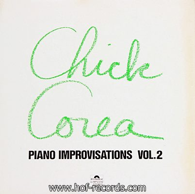 Chick Corea - Piano Improvisations Vol.2 1971