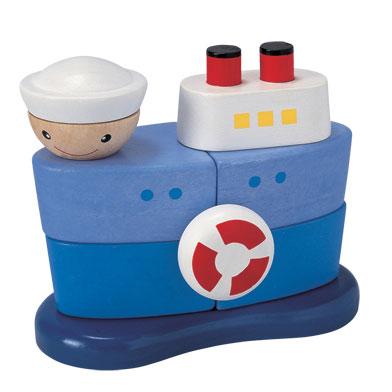 เรือเรียงซ้อน PlanToys 5120 [ส่งฟรี]