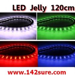 LFC007 LED Jelly Flexibleไฟยางท่อนละ 120 cm. ดัดงอได้ ตัดได้-ต่อได้ (กันน้ำ) ยี่ห้อ OEM รุ่น 120cm