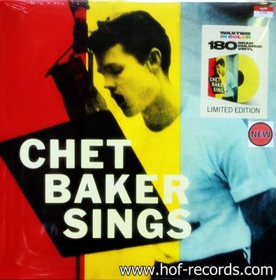 Chet Bakers - Sings 1Lp ( Yellow ) N.