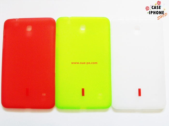 เคสยางซิลิโคน Samsung Galaxy Tab 4 8.0
