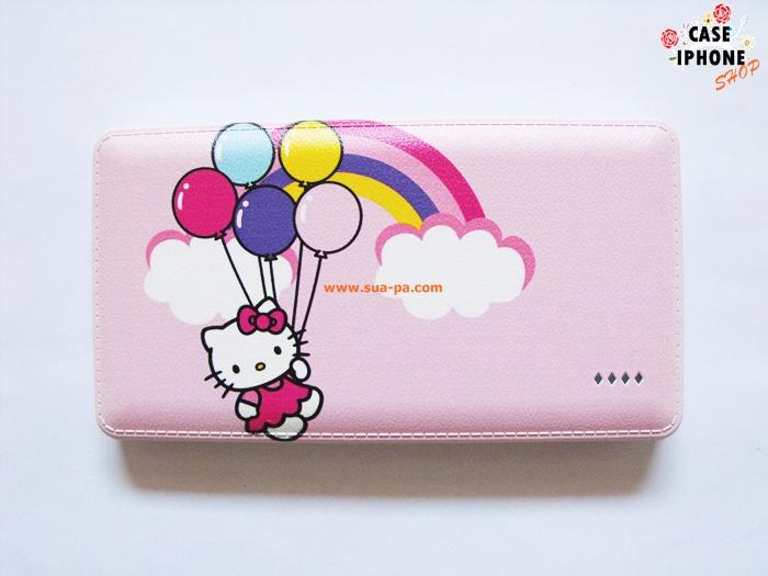 Power Bank หุ้มหนัง Hello Kitty 50000 Mah