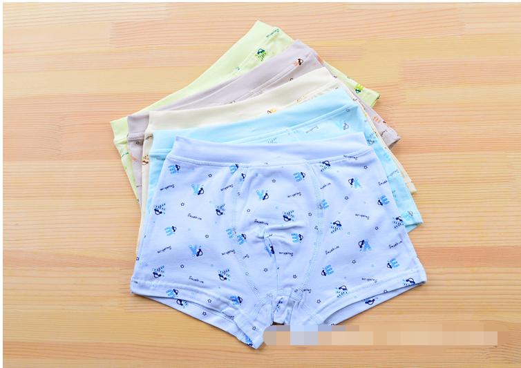 กางเกงในเด็ก คละสี แพ็ค 20 ตัว ไซส์ L อายุ 3-5 ปี