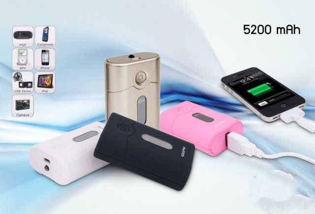 Gumi Power Bank 5200 mAh