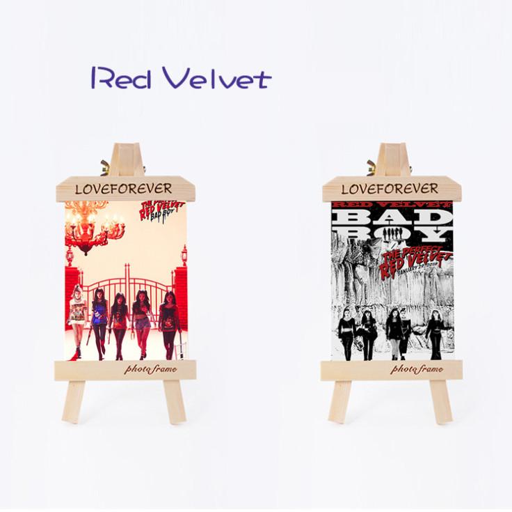กรอบรูปไม้ Red Velvet - BADBOY