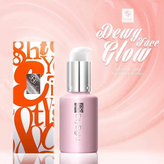 Eity Eight Dewy Face Glow (Shine Bright Radiance Finish) เปล่งประกายสว่างใสแบบมีออร่า