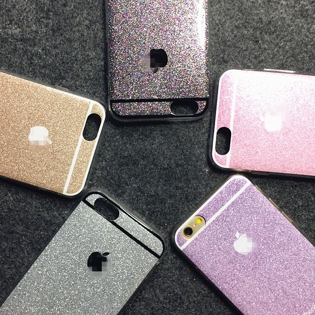 เคสนิ่ม Glitter โลโก้ apple ไอโฟน 6/6s 4.7 นิ้ว