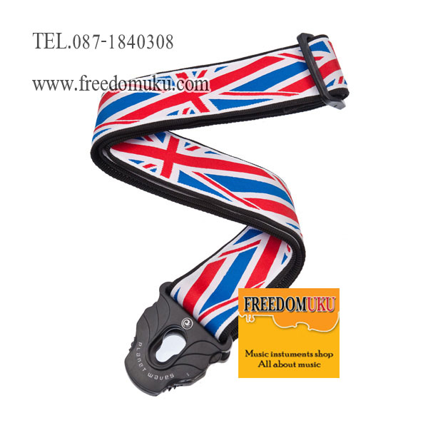 สายสะพาย Planet Waves Lock Strap 50PLA11 Union Jack