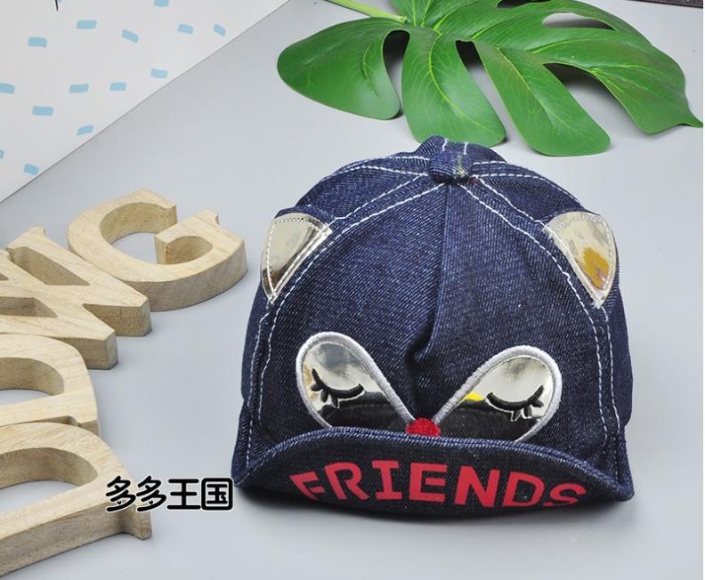หมวก สีน้ำเงินเข้ม แพ็ค 5ใบ ไซส์รอบศรีษะ 48cm