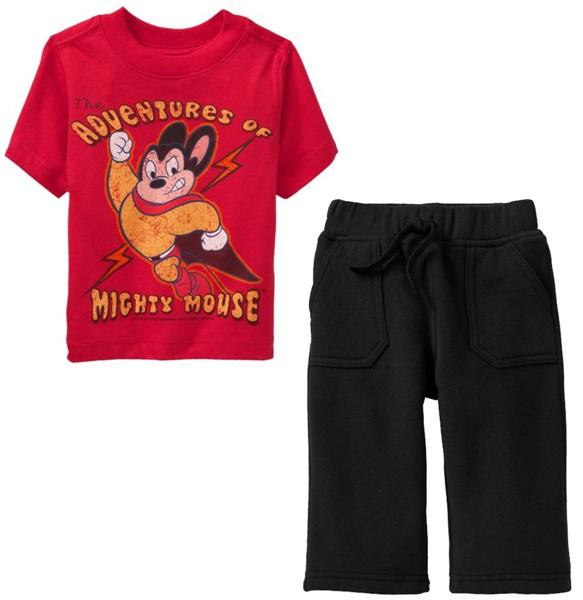 PJA065 เสื้อผ้าเด็ก ชุดลำลอง แนวสปอร์ต baby Gap Made in Malasia งานส่งออก USA เหลือ Size 80
