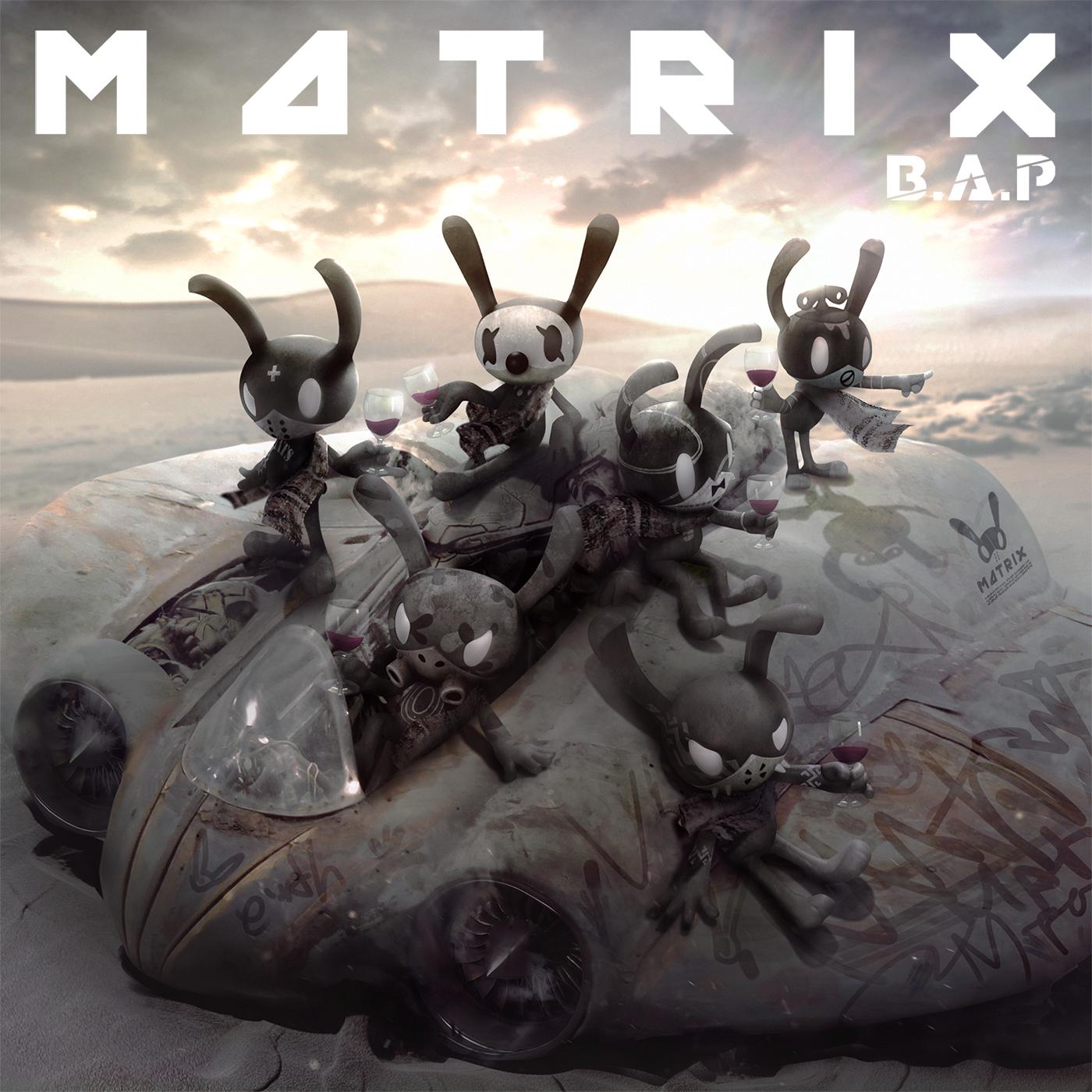 B.A.P - Mini Album Vol.4 [MATRIX]