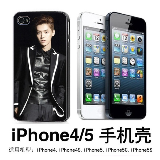 EXO เคส EXO LUHAN iPhone4/4s/5/5s