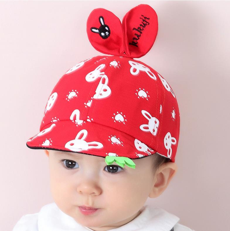 หมวก สีแดง แพ็ค 5ใบ ไซส์รอบศรีษะ 48-50cm
