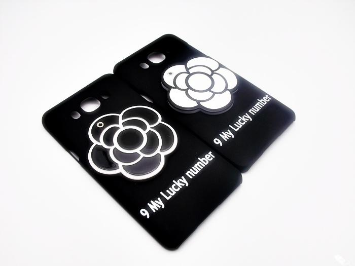 เคสดอกไม้ 3D ซ่อนกระจก ซัมซุง เจ 7(version 2)