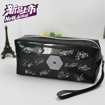 กระเป๋าดินสอ EXO Overdose สีดำขาว (เรืองแสง)