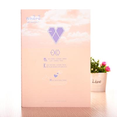 สมุดปกอ่อน EXO