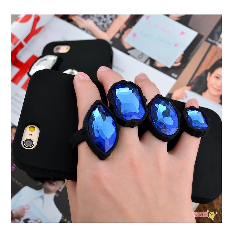 เคส tpu แหวนเพชร ไอโฟน 6/6s 4.7 นิ้ว