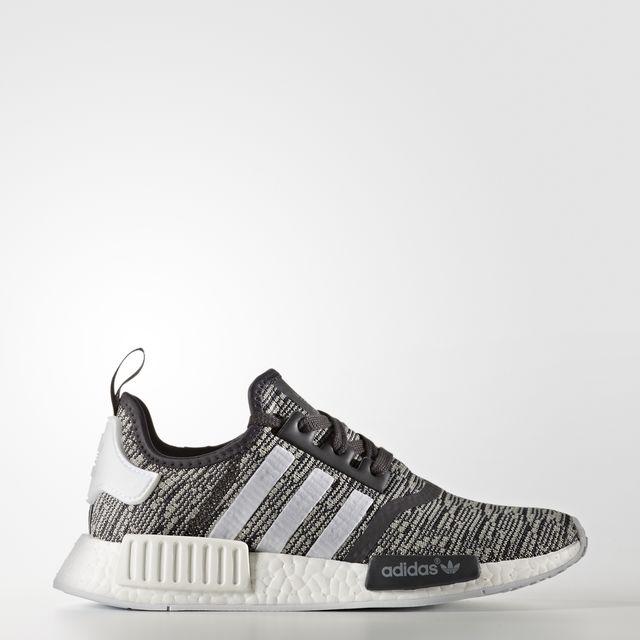 adidas NMD R1 Color Utility Black/Footwear White/Medium Grey Heather Solid Grey