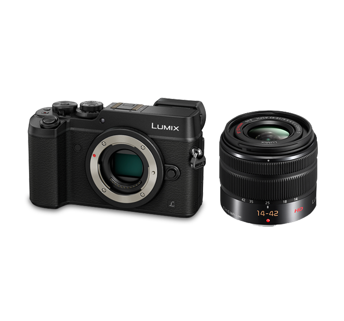 Panasonic GX8 +Lens 14-42 mm OIS