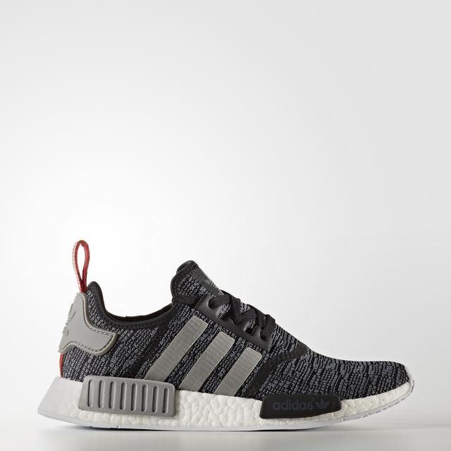 adidas NMD R1 Color Core Black/Dark Grey Heather Solid Grey