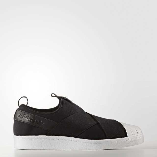 SUPERSTAR SLIP-ON SHOE in Black new2017