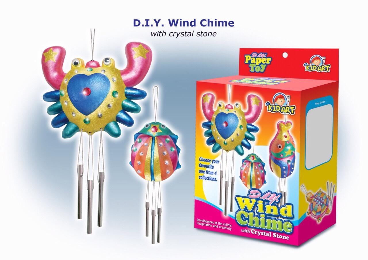 ชุดระบายโมบายกุ๊งกิ๊ง (DIY Wind Chimes)
