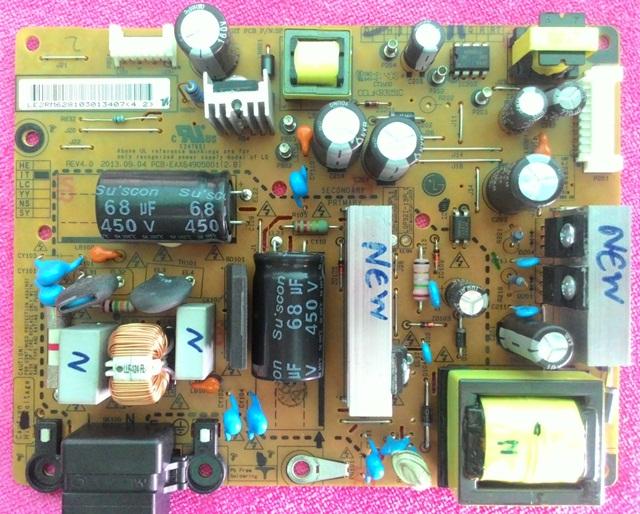 บอร์ดเพาเวอร์ซัพพลาย LED LG 32LN5120-TC,32LN5400-TA PCB:EAX64905001