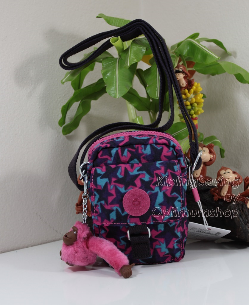 Kipling Teddy Festival Stars ใบเล็กๆ mini bag ขนาด 10 L x 14 H x 6.5 W cm