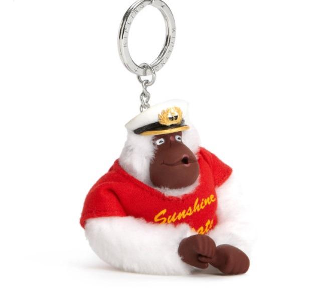 Kipling Florida monkey keychain มาพร้อมกล่องพลาสติกใส ขนาด 4x3.25x2.25 นิ้ว