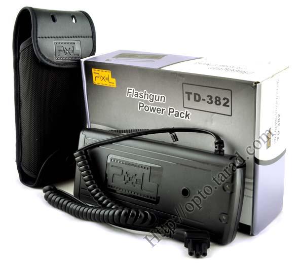 TD-382 Battery Pack For Nikon SB-900 SB-910 SD-9A (take 8 AA batteries)