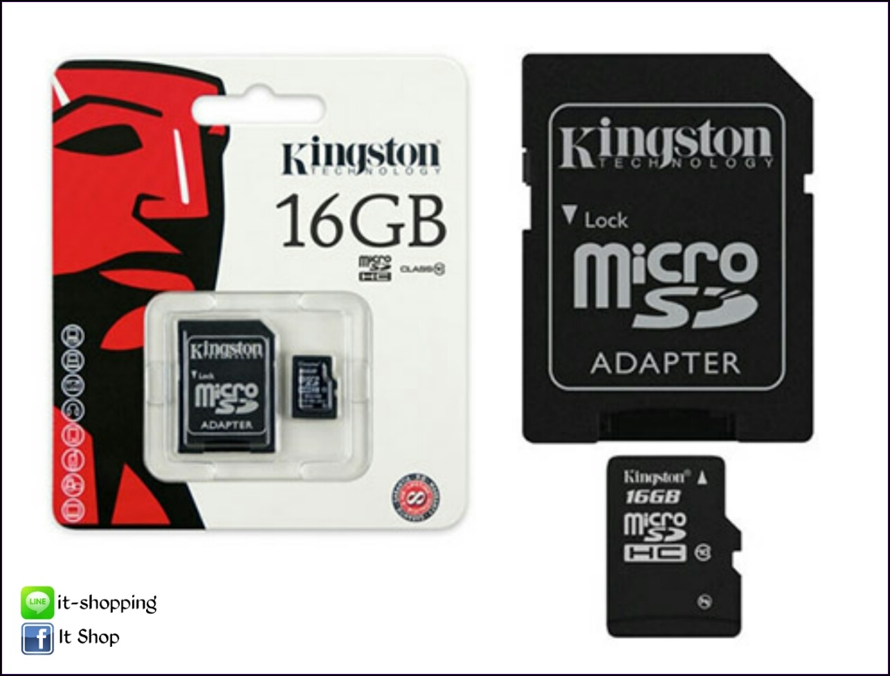Micro SD Card Kingston 16 GB