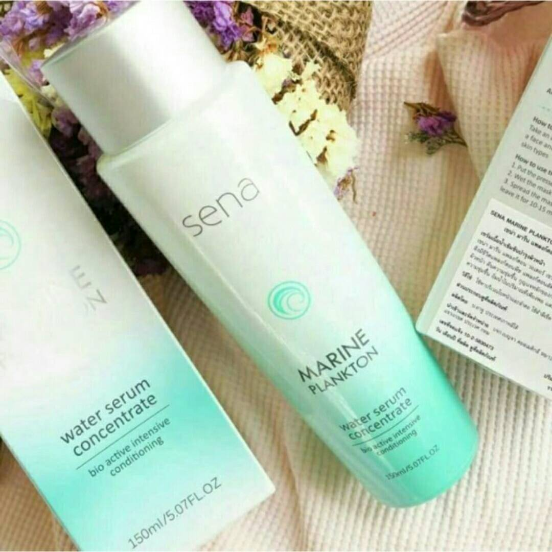 Sena Marine Plankton Water Serum Concentrate (น้ำตบแพลงตอน)