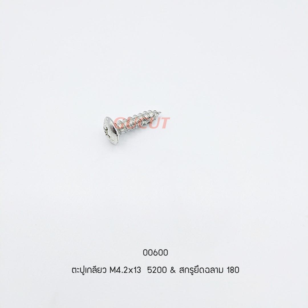ตะปูเกลียว M4.2x13 5200 & สกรูยึดฉลาม 180 5200-C073