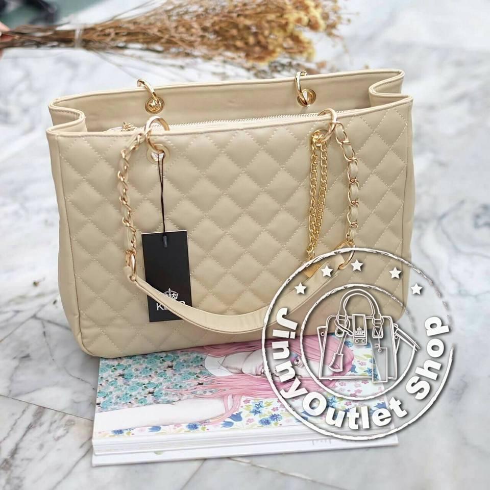 KEEP ( Luxury Leather Tote Bag )