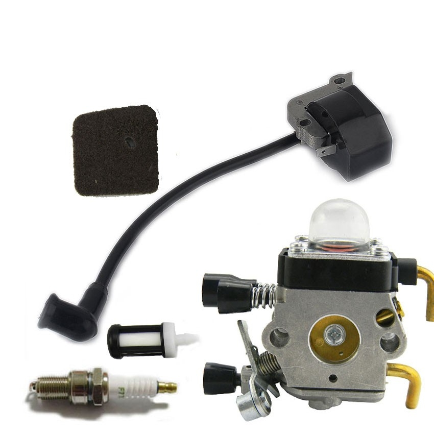 Chainsaw Parts for STIHL FS38 FS45 FS46 FS55 FS55C FC55 FS45 FS46 HS45 HL45 KM55 Carburetor Ignition coil