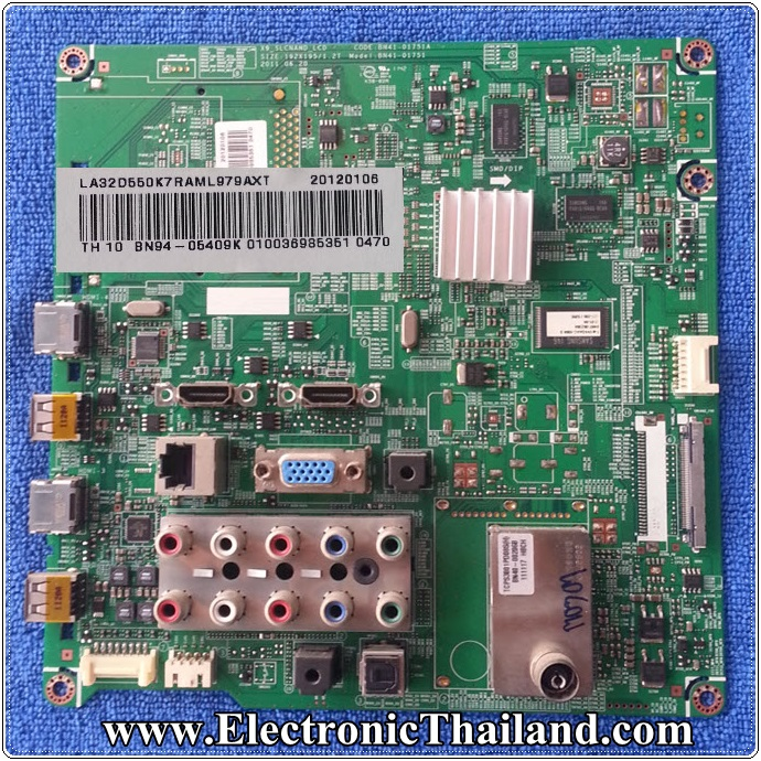 MAINBOARD SAMSUNG LA32D550K7 BN94-05409K BN94-04578A