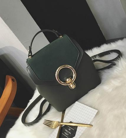 กระเป๋าถือ ฺBlit stone (สีเขียว)
