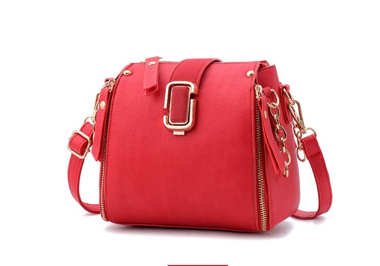 กระเป๋าถือ mustard style (สี Mel red)