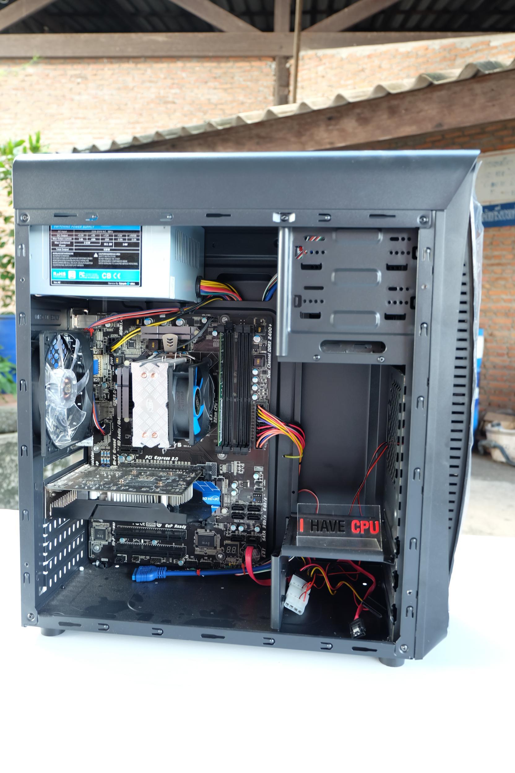 i7-3770 / H77 / 8GB / GTX 750 Ti / 320GB / CASE
