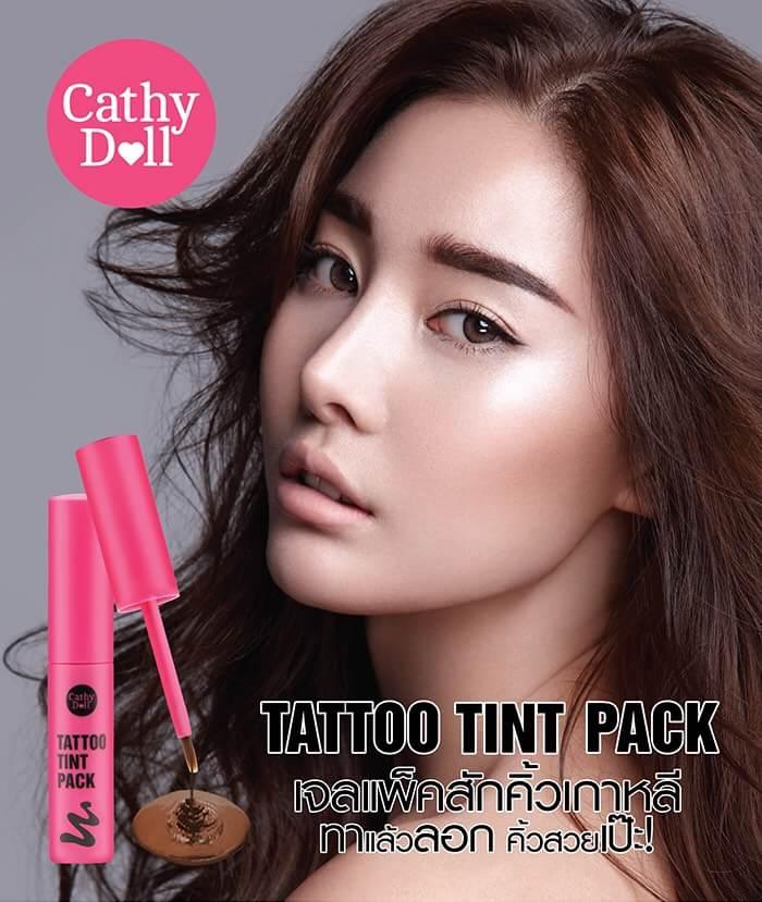 Cathy Doll Tattoo Tint Pack 5.2 g เจลสักคิ้วแคที่ดอล