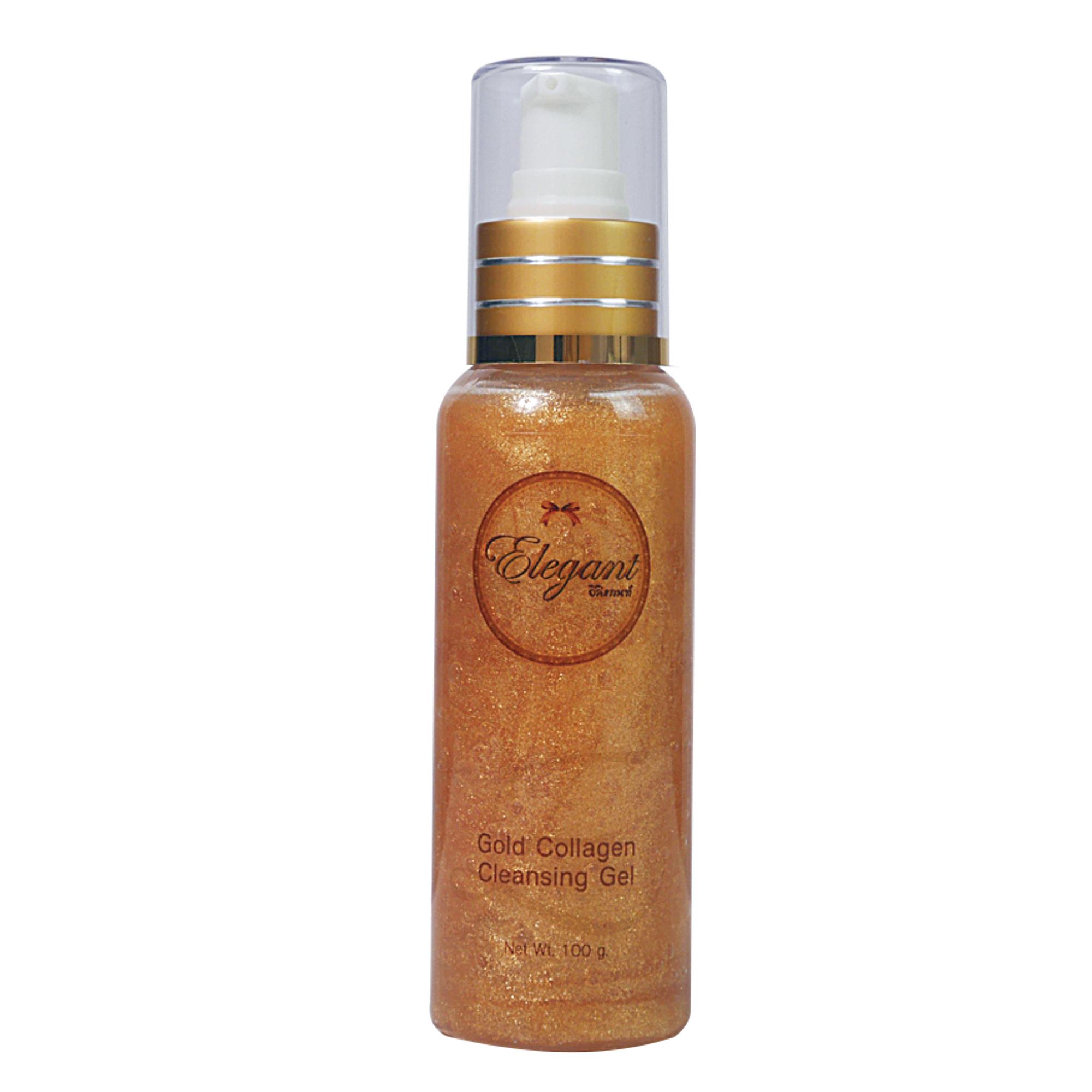 Elegant Gold Collagen Cleansing Gel 100 ml.