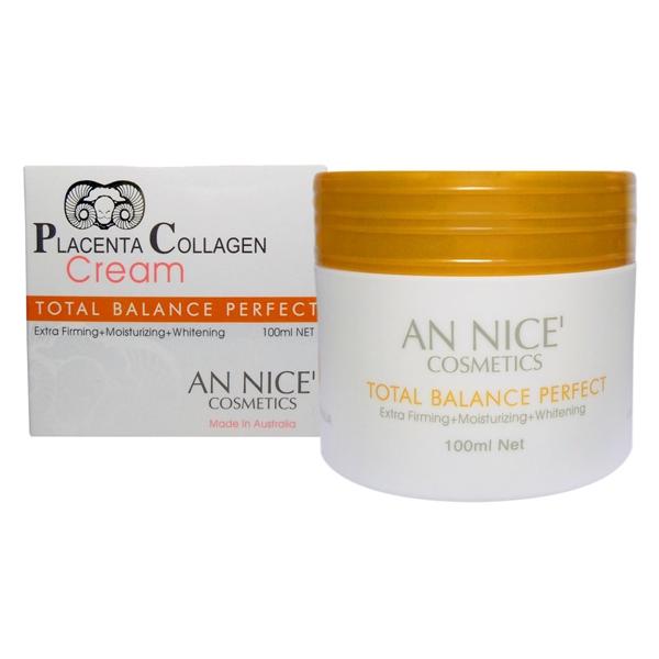 ครีมรกแกะ AN NICE' Placenta Collagen Cream 100ml.