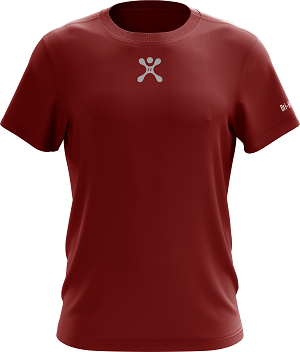 เสื้อออกกำลังกาย Prototype One จาก Hybrid Sport สี Red Burgundy