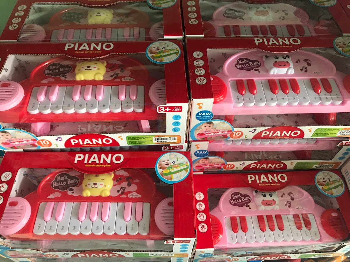 เปียโนขาตั้ง(คละสี)