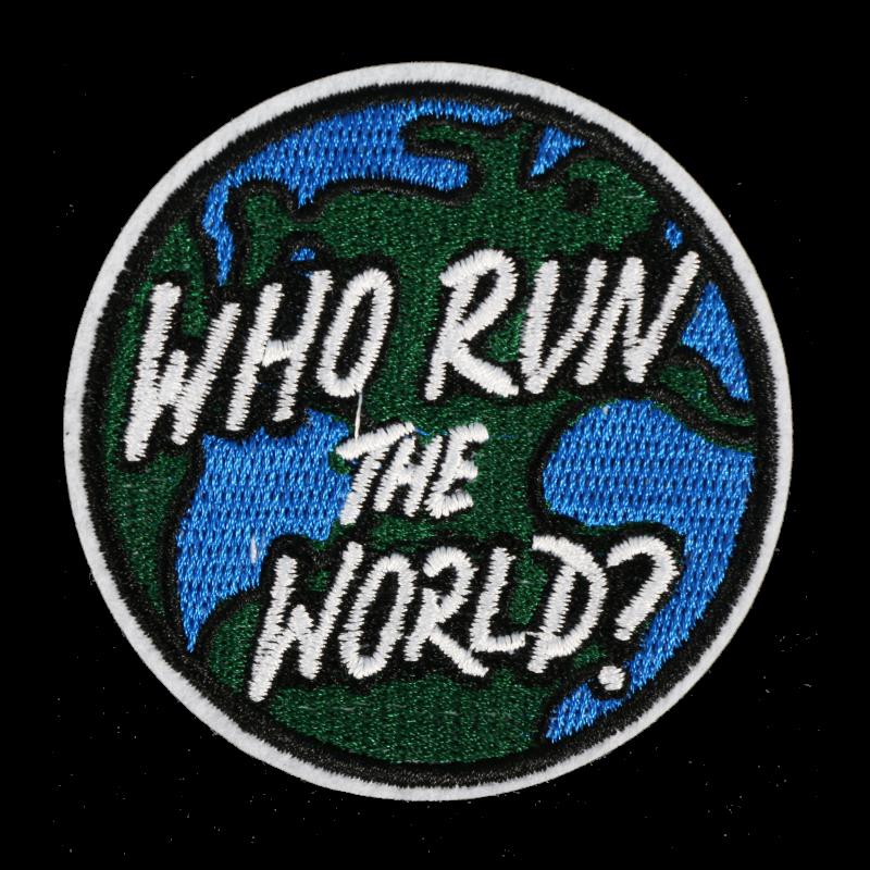 L0063 Who Run The World 7.3x7.3cm