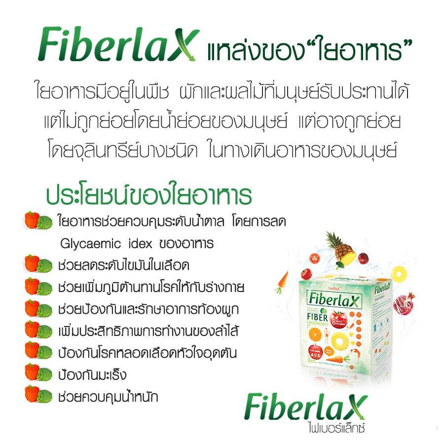 ประโยชน์ ข้อดีของการดื่ม verena fiberlax