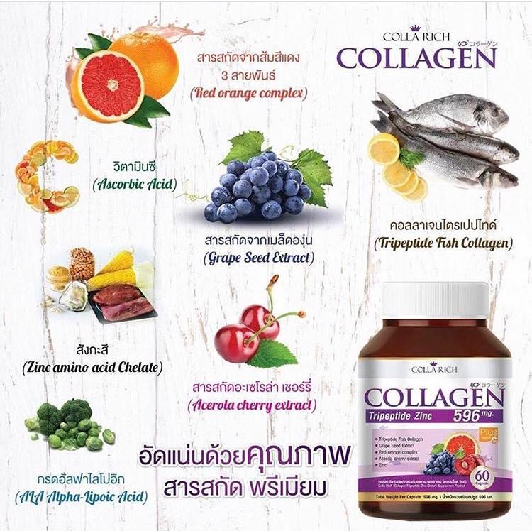 �ล�าร���หารู��า�สำหรั� Colla Rich Collagenสูตร�หม�