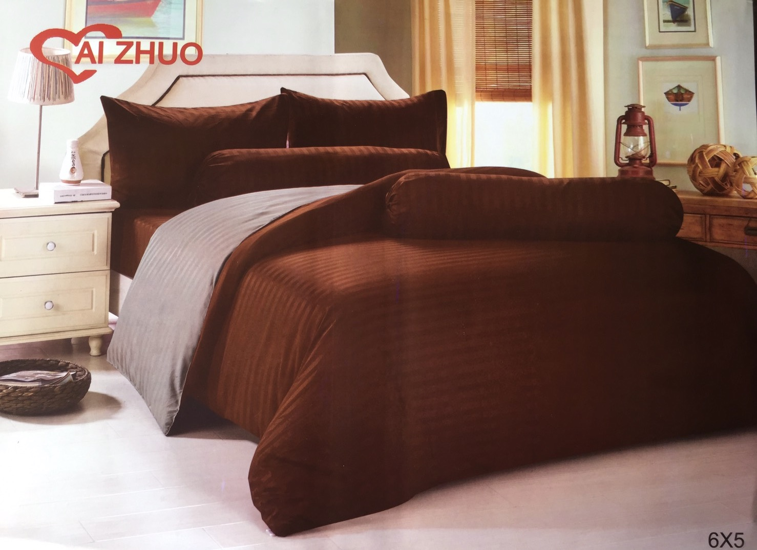 ชุดผ้าปูที่นอนสีพื้น ขนาด 6 ฟุต, 5 ฟุต, 3.5 ฟุต